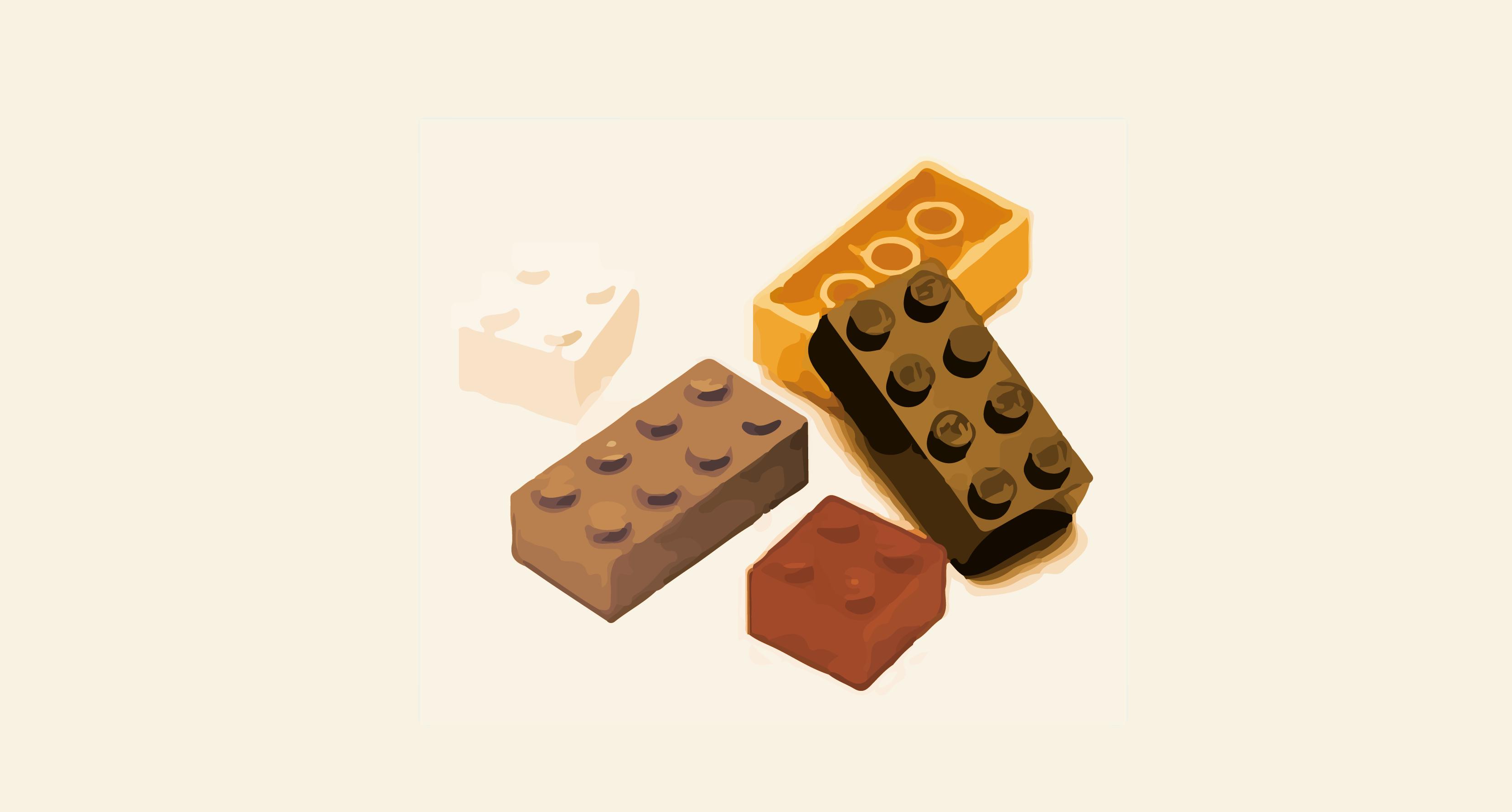 Lego klodser der ligger loest