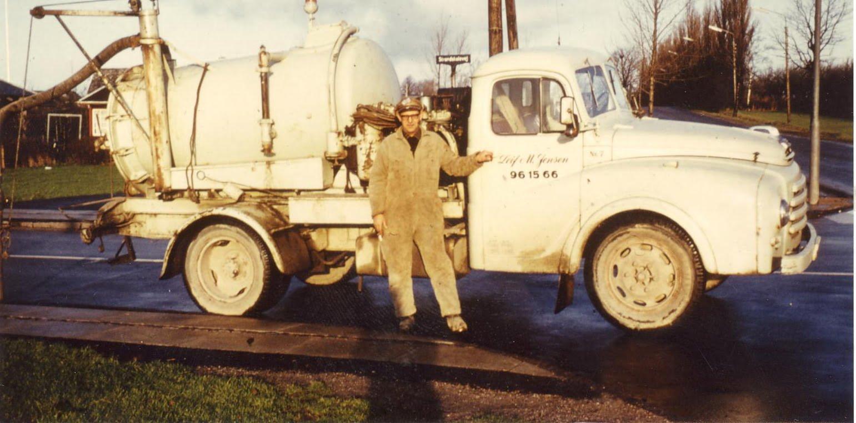 Leif M Jensen - Første lastbil 1942